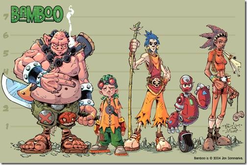 Персонажи героев с разных мультиков
